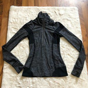 Lululemon 1/4 zip running fleece reflective detail